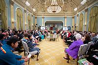 David Johnston<br /> , Governor General's awards 2017<br /> <br /> PHOTO : Agence Quebec Presse