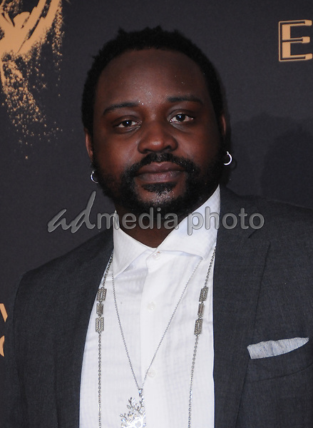 10 September  2017 - Los Angeles, California - Brian Tyree Henry. 2017 Creative Arts Emmys - Arrivals held at Microsoft Theatre L.A. Live in Los Angeles. Photo Credit: Birdie Thompson/AdMedia