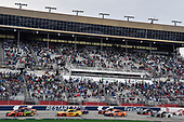Monster Energy NASCAR Cup Series<br /> Folds of Honor Quik Trip 500<br /> Atlanta Motor Speedway, Hampton, GA USA<br /> Sunday 25 February 2018<br /> Martin Truex Jr., Furniture Row Racing, Bass Pro Shops/5-Hour Energy Toyota Camry and Joey Logano, Team Penske, Shell Pennzoil Ford Fusion<br /> World Copyright: Nigel Kinrade<br /> NKP / LAT Images