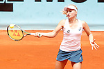 Daria Gavrilova, Australia, during Madrid Open Tennis 2016 match.May, 5, 2016.(ALTERPHOTOS/Acero)