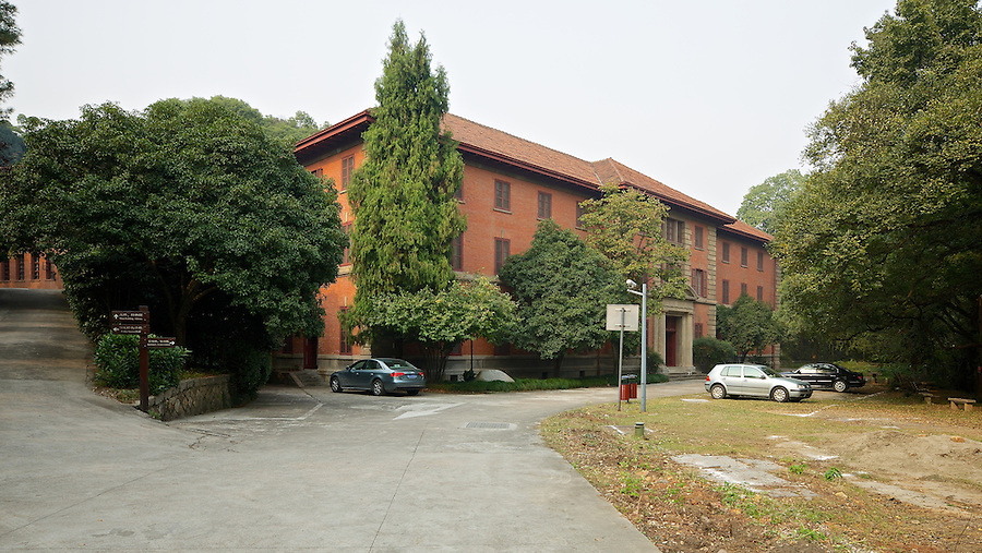 Zhejiang University - Gamble Hall (After D. B. Gamble).  Hangzhou (Hangchow).