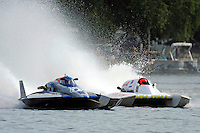 Patrick Sankuer, Jr., GNH-6 and Cal Phipps, GNH-41  (Grand National Hydroplane(s)