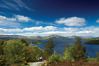 The Luss Hills from Craigie Fort above Balmaha, Loch Lomond and the Trossachs National Park