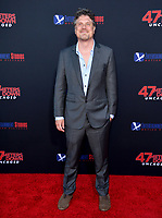 "LOS ANGELES, USA. August 14, 2019: Johannes Roberts  at the premiere of ""47 Meters Down: Uncaged"" at the Regency Village Theatre.<br /> Picture: Paul Smith/Featureflash"