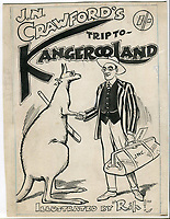 Collection of hilarious sketches by an early 20th century England cricketer touring Australia.