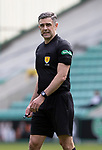 Hibs v St Johnstone…01.05.21  Easter Road. SPFL<br />Referee Greg Aitken<br />Picture by Graeme Hart.<br />Copyright Perthshire Picture Agency<br />Tel: 01738 623350  Mobile: 07990 594431
