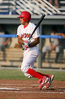 June 27th, 2007:  Oliver Marmol of the Batavia Muckdogs, Short-Season Class-A affiliate of the St. Louis Cardinals at Dwyer Stadium in Batavia, NY.  Photo by:  Mike Janes/Four Seam Images