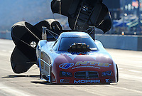 Jul, 9, 2011; Joliet, IL, USA: NHRA funny car driver Johnny Gray during qualifying for the Route 66 Nationals at Route 66 Raceway. Mandatory Credit: Mark J. Rebilas-