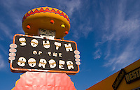 Famous South of the Border attraction on border of North and South Carolina in Dillon with Mexico theme