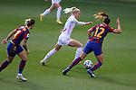 Liga IBERDROLA 2020-2021. Jornada: 18.<br /> FC Barcelona vs R. Madrid: 4-1.<br /> Sofia Jakobsson vs Patri Guijarro.