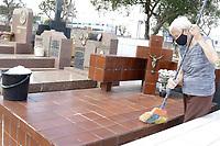 01/11/2020 - MOVIMENTAÇÃO NO CEMITÉRIO DA SAUDADE