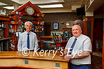 Sean Buckley owner and Pat Gill the new manager in the Arbutus Hotel in Killarney getting prepared  to reopen