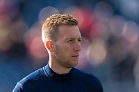 FOXBOROUGH, MA - MARCH 7: Robert Beric #27 of Chicago Fire during a game between Chicago Fire and New England Revolution at Gillette Stadium on March 7, 2020 in Foxborough, Massachusetts.