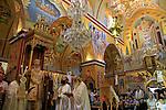 Mount Tabor, Transfiguration Day ceremony at St. Elias Greek Orthodox monastery