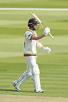 Ian Cockbain, Gloucestershire CCC acknowledges his half century during Middlesex CCC vs Gloucestershire CCC, LV Insurance County Championship Group 2 Cricket at Lord's Cricket Ground on 7th May 2021