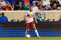 Eric Alexander (12) of the New York Red Bulls. The New York Red Bulls and the Philadelphia Union played to a 0-0 tie during a Major League Soccer (MLS) match at Red Bull Arena in Harrison, NJ, on August 17, 2013.