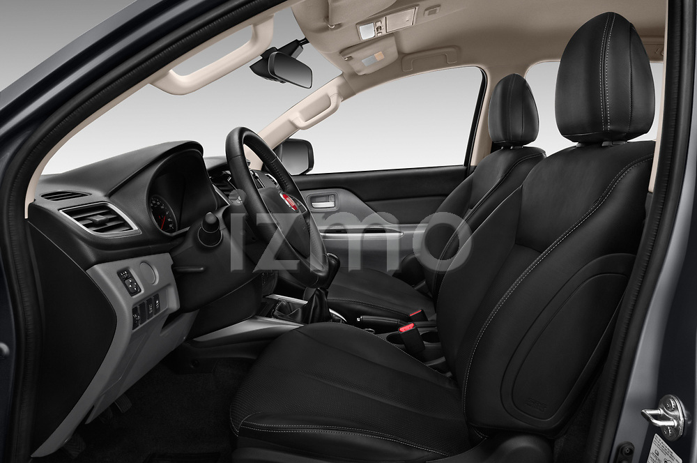 Front seat view of 2017 Fiat Fullback Pack-Lusso 4 Door Pickup Front Seat  car photos