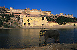 India, Rajasthan, Jaipur: Amber Fort | Indien, Rajasthan, Jaipur: Amber Fort