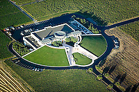 aerial photograph Opus One Winery Napa County, California