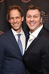 David Korins and Warren Carlyle attends The 69th Annual Outer Critics Circle Awards Dinner at Sardi's on May 23, 2019 in New York City.