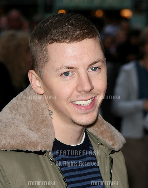 Professor Green attends 'The Kid' UK premiere at the Odeon West End, Leicester Square, London. 15/09/2010  Picture by: Alexandra Glen / Featureflash