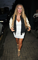 Danielle Mason at the Lit Bar launch party, Lit Bar, Lendal Terrace, Clapham, on Friday 10th September 2021 in London, England, UK. <br /> CAP/CAN<br /> ©CAN/Capital Pictures