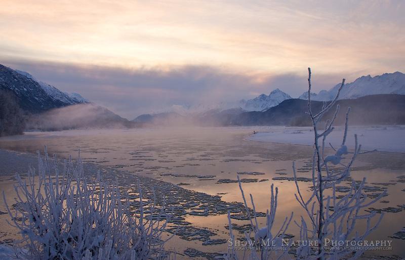 """""""Frosty Chilkat River"""", Alaska"""