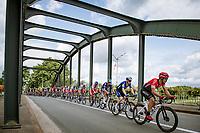 'bridging over'<br /> <br /> Grote Prijs Marcel Kint 2021<br /> One day race from Zwevegem to Kortrijk (196km)<br /> <br /> ©kramon
