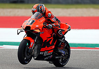 3rd October 2021; Austin, Texas, USA; Danilo Petrucci (9) - (ITA) rides past the 12th turn during the MotoGP Red Bull Grand Prix of the Americas on October 3, 2021 at the Circuit of the Americas