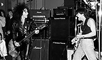 Eddie Van Halen, Steve Stevens at NAMM 1987