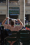Scenes from Fountain of Youth Day. Gulfstream Park, Hallandale Beach Florida. 02-22-2014
