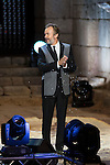 Tristan Ulloa during 2015 Theater Ceres Awards ceremony at Merida, Spain, August 27, 2015. <br /> (ALTERPHOTOS/BorjaB.Hojas)