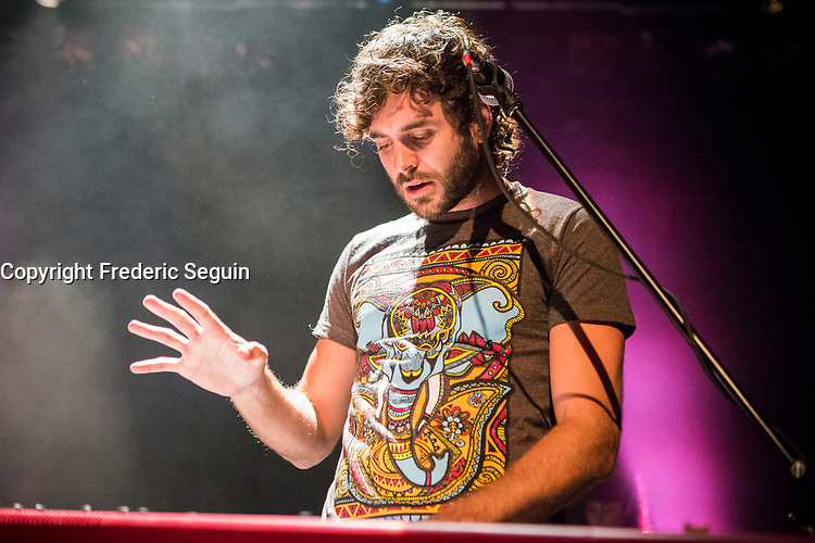Alex Nevsky attend<br /> the  Festival en Chanson of Petite-Vallee in Gaspesia on  July 1st, 2014<br /> Photo : Agence Quebec Presse  - Frederic Seguin