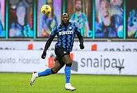 Milano  26-01-2021<br /> Stadio Giuseppe Meazza<br /> Coppa Italia Tim 2020/21<br /> Inter - Milan nella foto:   Romelu Lukaku Inter Fc                                                       <br /> Antonio Saia Kines Milano