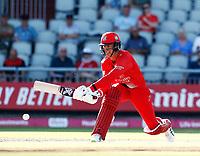 17th July 2021; Emirates Old Trafford, Manchester, Lancashire, England; T20 Vitality Blast Cricket, Lancashire Lightning versus Yorkshire Vikings; Keaton Jennings of Lancashire Lightning