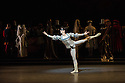 London, UK. 17.04.13. Canada's premier dance company The National Ballet of Canada returns to London after 26 years with its new production of Romeo and Juliet, which was created in 2011 to mark the company's 60th anniversary. Picture shows: Guillaume Cote (Romeo). Photograph © Jane Hobson.
