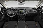 Stock photo of straight dashboard view of 2020 Chevrolet Impala Premier 4 Door Sedan Dashboard
