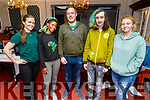 Karen Conway, Abilgail Ndlovo, Faolán Devane, Jason O'Sullivan and Courteney Wheatcroft attending the Kerry Colleges Health Promotion Seminar in the Imperial Hotel on Thursday.
