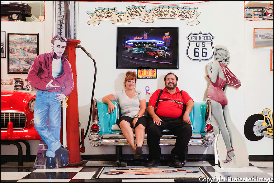 New Mexico - Santa Rosa<br /> Route 66 Museum<br /> Anna et James Cordova