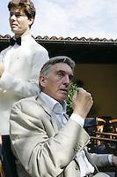 "Switzerland. Canton of Tessin. Ascona. Marco Solari. President of the International film festival of  Locarno. The interview took place in the hotel ""Castello del Sole"". © 2004 Didier Ruef"