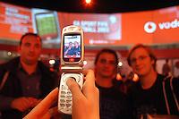 - SMAU, international exibition of electronics, computer science and technological innovation, video telephone Vodafone ..- SMAU, salone internazionale dell'elettronica, informatica e innovazione tecnologica, videotelefono Vodafone