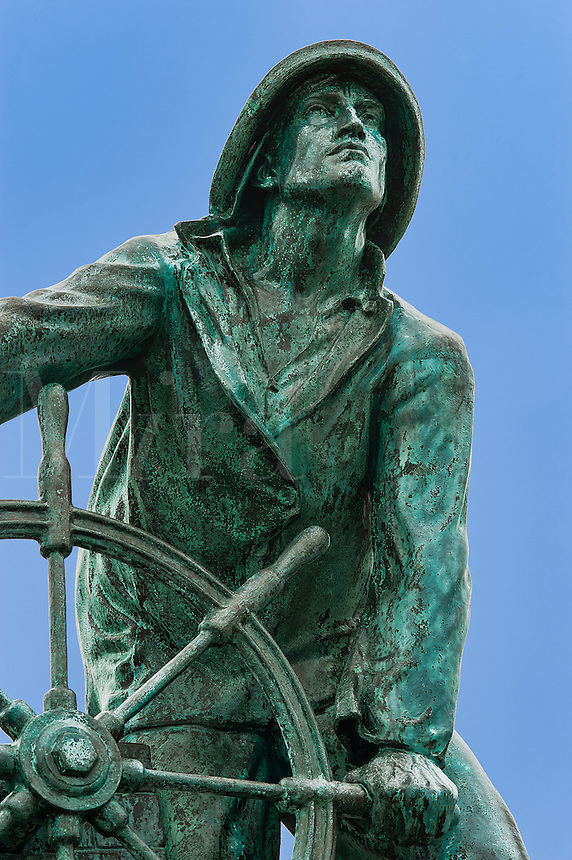 They That Go Down to the Sea in Ships, Fisherman's Memorial, Gloucester,