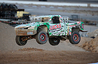 Nov. 5, 2011; Las Vegas, NV USA; LOORRS pro 2 unlimited driver Robby Woods during round 13 at the Las Vegas Motor Speedway. Mandatory Credit: Mark J. Rebilas-US PRESSWIRE