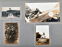BNPS.co.uk (01202 558833)<br /> Pic: C&T/BNPS<br /> <br /> Thrills and Spills -  GG Speight was based as an RNAS Observer in Cornwall.<br /> <br /> Never before seen photos of the disastrous Gallipoli campaign have come to light over a century later.<br /> <br /> The fascinating snaps were taken by Sub Lieutenant Gilbert Speight who served in the Royal Naval Air Service in World War One.<br /> <br /> They feature in his photo album which covers his eventful war, including a later stint in Egypt.<br /> <br /> There are dramatic photos of the Allies landing at X Beach, as well as sobering images of a mass funeral following the death of 17 Brits. Another harrowing image shows bodies lined up in a mass grave.<br /> <br /> The album, which also shows troops during rare moments of relaxation away from the heat of battle, has emerged for sale with C & T Auctions, of Ashford, Kent. It is expected to fetch £1,500.