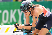29th August 2021; Tokyo, Japan; Lauren Steadman (GBR), <br /> Triathlon : Women's PTS5<br /> during the Tokyo 2020 Paralympic Games at the Odaiba Marine Park in Tokyo, Japan.