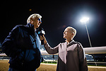 DUBAI, UAE - MARCH 24: Bob Baffert being interviewed at the Meydan Race Track in preparation for the Dubai World Cup Race on March 24, 2017 in Dubai, UAE. (Photo by Douglas DeFelice/Eclipse Sportswire/Getty Images)