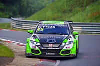Race of Germany Nürburgring Nordschleife 2016 Free training 2 WTCC 2016 #55 TC1 Zengo Motorsport Kft. Honda Civic WTCC Ferenc Ficza (HUN) © 2016 Musson/PSP. All Rights Reserved.