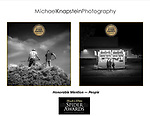 Two photographs by Michael Knapstein won Honorable Mention in the 15th annual Black & White Spider Awards international competition.