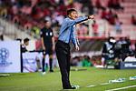 North Korea Head Coach Kim Yong Jun reacts during the AFC Asian Cup UAE 2019 Group C match between Saudi Arabia (KSA) and North Korea (PRK) at Rashid Stadium on 08 January 2019 in Dubai, United Arab Emirates. Photo by Marcio Rodrigo Machado / Power Sport Images
