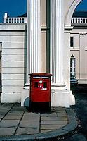London: Postbox, Cumberland Terrace.  Photo '79.